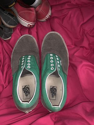 Green and grey men vans for Sale in Medford, OR
