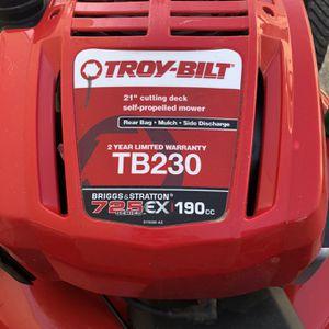 Troy Bilt Lawn Mower Care Package for Sale in Los Angeles, CA