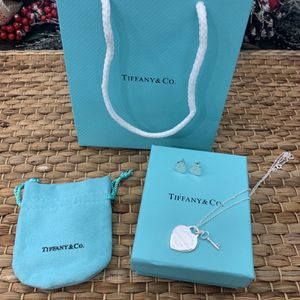 Tiffany And Co Necklace And Earings for Sale in Riverside, CA