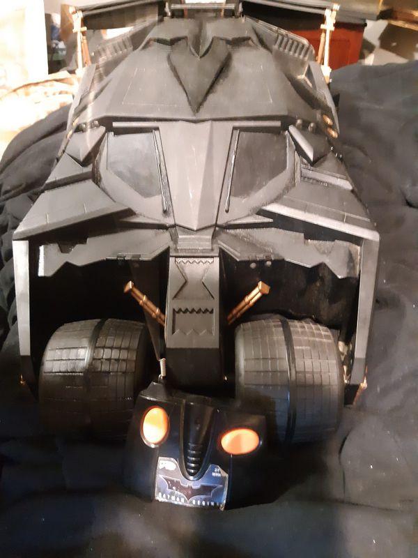 2005 Batman begins giant batmobile from the 2005 Batman begins movie