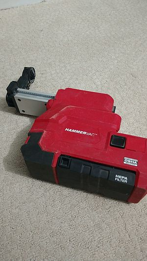 Hammer vac for Milwaukee drill for Sale in Sterling, VA