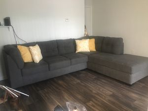 Grey Sectional Couch for Sale in Atlanta, GA