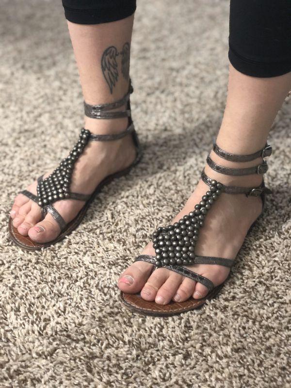 Size 7 sandals $5