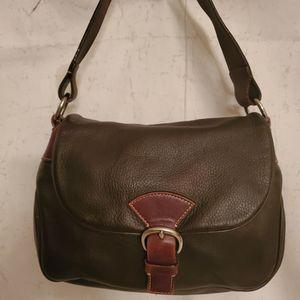 Dooney & Bourke Retro Brown Shoulder Bag + Matching Wallet & Blue Dust Bag for Sale in Henderson, NV