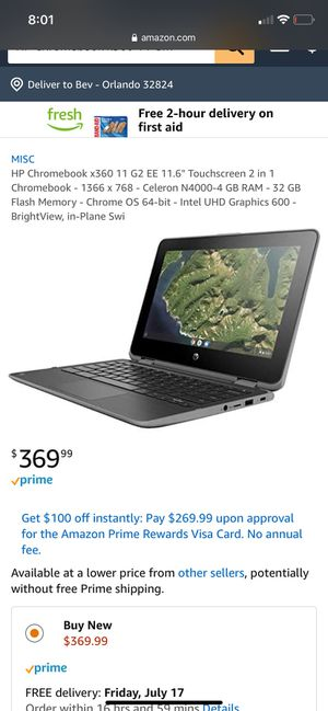 HPChromebook for Sale in Orlando, FL