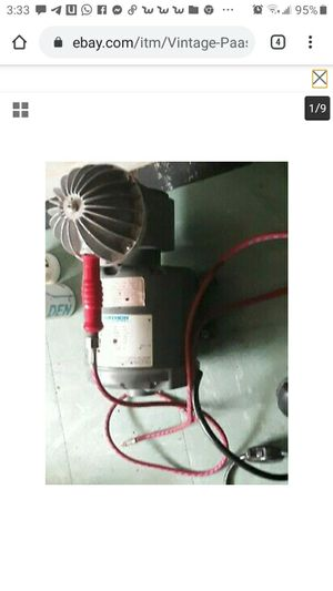 vintage paashe air compressor for Sale in Chula Vista, CA