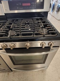 Lg Gas Stove Used In Good Condition With 90day's Warranty for Sale in Hyattsville,  MD