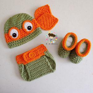 Crochet Ninja Turtles Baby costume- Made to order! for Sale in Zephyrhills, FL