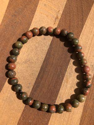 Unakite stone bracelet for Sale in Stockton, CA