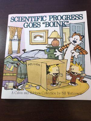 """Scientific Progress Goes """"Boink"""" by Bill Waterson for Sale in Pike Road, AL"""