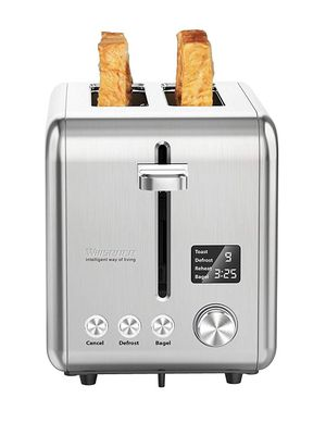 2 Slice Toaster Stainless Steel with Digital LCD Display for Sale in Beaverton, OR