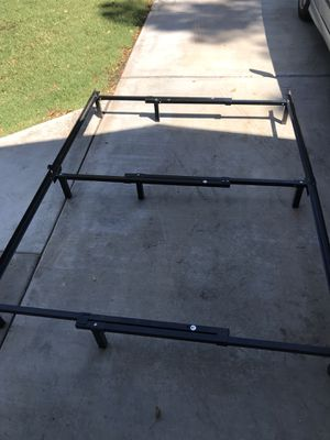 King Queen or Full or twin size metal bed frame for Sale in Chandler, AZ