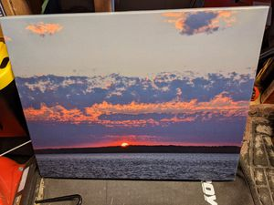 "16""x20"" canvas print picture for Sale in Federal Way, WA"