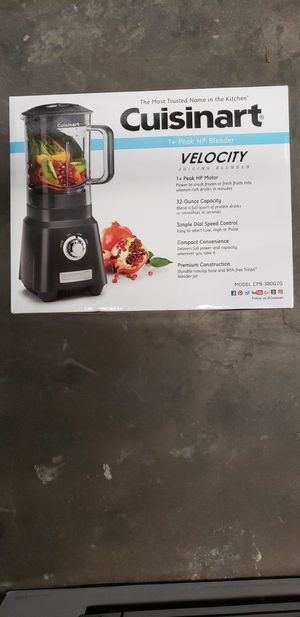 Cuisinart velocity juicing blender for Sale in Woodway, TX