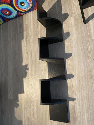 Black 5-level Corner Shelf for Sale in Austin, TX