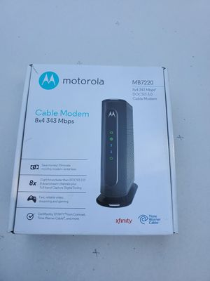Motorola Cable modem for Sale in Los Angeles, CA