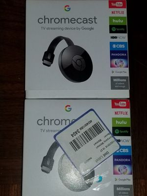 2 Chromecasts $20 each for Sale in Houston, TX