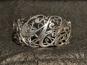 CAROLYN POLLACK Sterling Silver 925 Limited Edition Anniversary Cuff Bracelet for Sale in Los Angeles, CA