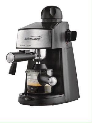 Brentwood Espresso Coffee Maker Cappuccino Cafetera café Con Leche Espuma Negra GA-125 for Sale in Miami, FL