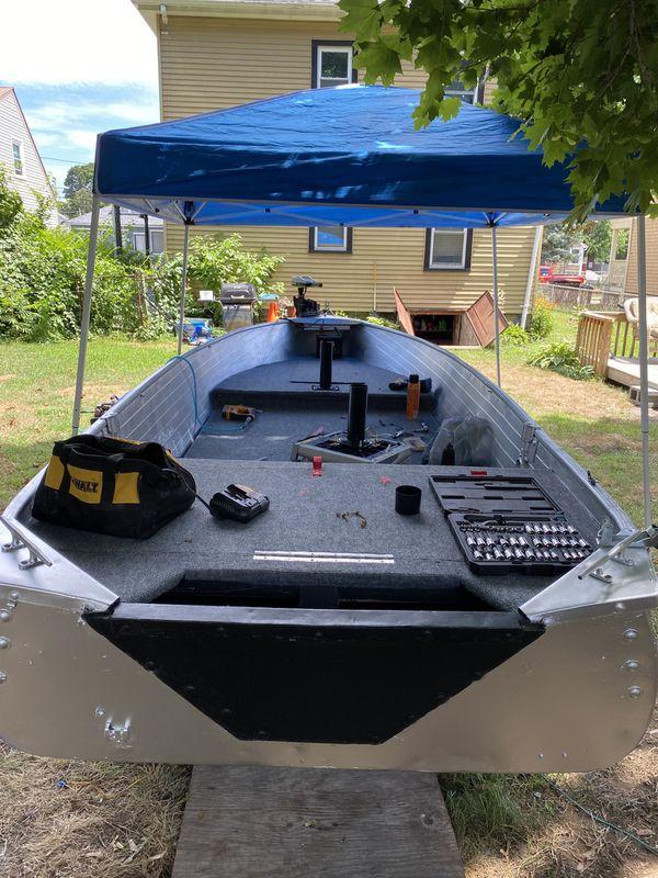 14' Aluminum Bass Boat
