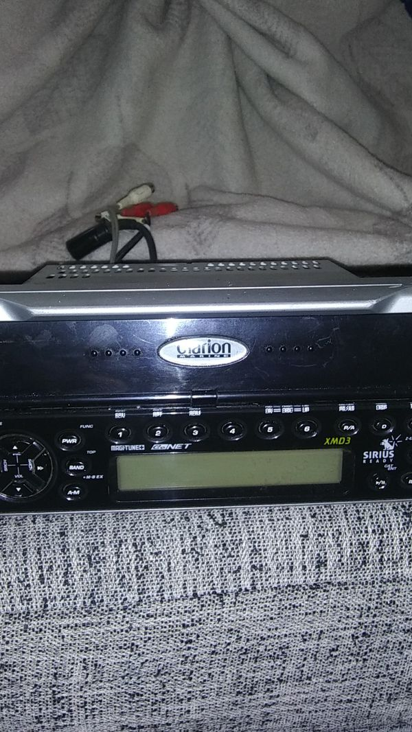 Clarion marine stereo deck