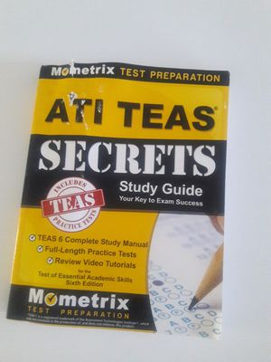 Tease exam study guide for Sale in Tarpon Springs, FL