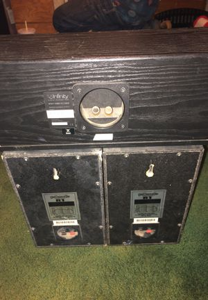 Polk audio surround sound with subwoofer for Sale in Sanger, CA