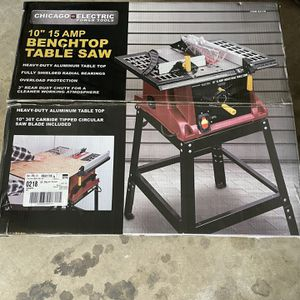 Portable table saw for Sale in Scottsdale, AZ