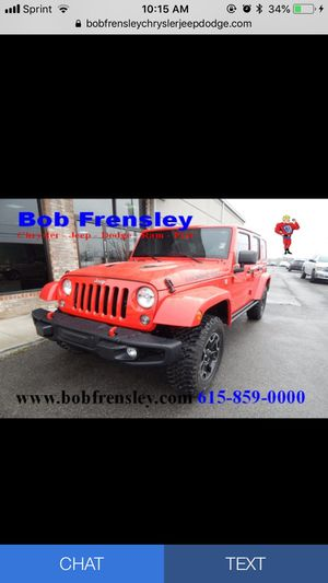 2016 Jeep Wrangler JK Unlimited Rubicon 4x4 SUV for Sale in Nashville, TN