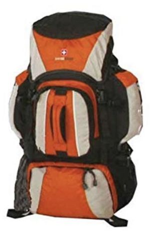 SwissGear Elite Series Extra Large Backpack / Hiking Backpack - ORANGE for Sale in West Valley City, UT