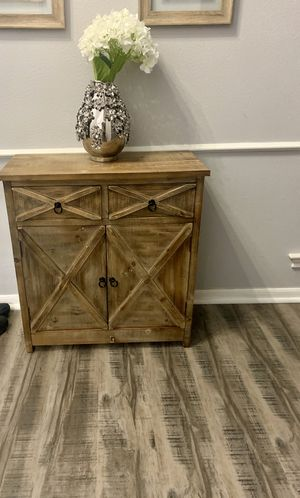 Entryway Console Table / Sideboard/ Storage Cabinet - Pier 1 for Sale in Spring, TX