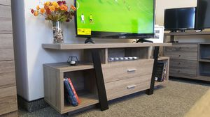 Tv Stand, Dark Taupe and Black , SKU # 151310 for Sale in Bell Gardens, CA