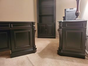 Hooker Office Furniture (Desk, Bookshelf and Filing Cab) for Sale in Clinton, MD