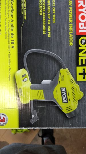 RYOBI 18-Volt ONE+ Cordless Power Inflator (Tool-Only) for Sale in Temple, GA