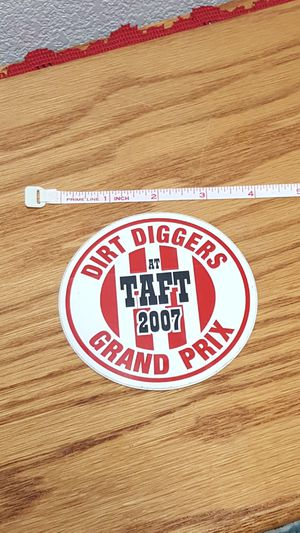 Dirt Digger Motorcycle Club Event Sticker for Sale in Alta Loma, CA
