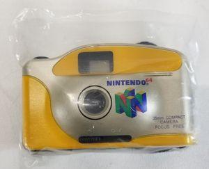 Vintage Nintendo 64 35mm Compact Camera for Sale in Hartford, CT
