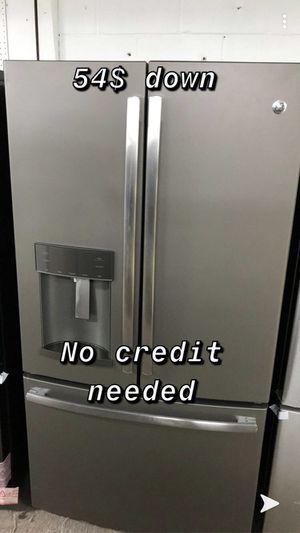 Brand new GE fingerprint resistant refrigerator for Sale in Houston, TX
