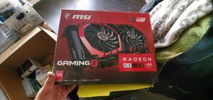 MSI RX 480 Gaming X 4G 4GB GPU Video Card for Sale in Houston, TX