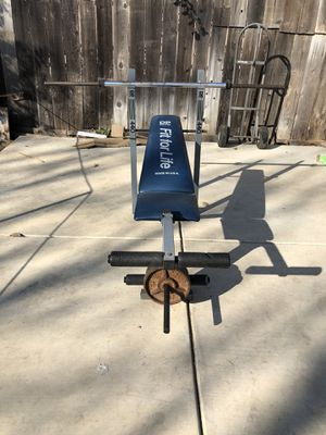 Bench press for Sale in Stockton, CA