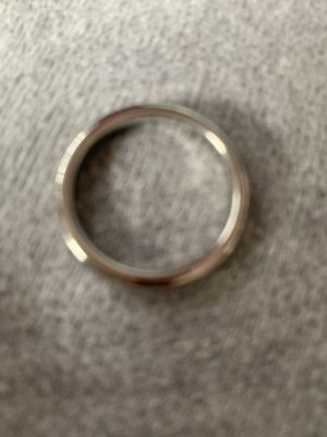 Men's size 7 tungsten white wedding ring for Sale in Wakefield, MA