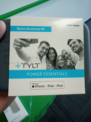 Tylt power essentials for iphone for Sale in San Angelo, TX