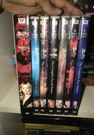 Buffy the Vampire Slayer Complete Series on DVD for Sale in Dallas, TX