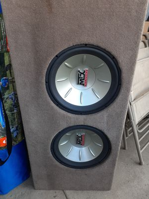 Speakers size 12 asking $100 o.b.o for Sale in Highland, CA