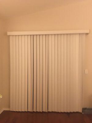 Sliding door vertical blinds for Sale in Goodyear, AZ