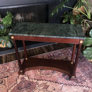 Green Marble Entry Table - Bombay Company for Sale in Kennewick, WA