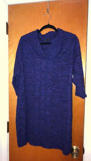 Lane Bryant women's purple sweater dress for Sale in Hampton, VA