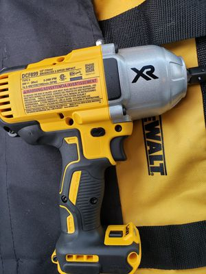 Dewalt 1/2 Wrench HiGH TORQUE MODEL BRAND NEW / Tool Only for Sale in Brooklyn Park, MD