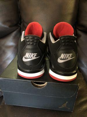 Nike air jordan bred 4 for Sale in Los Angeles, CA