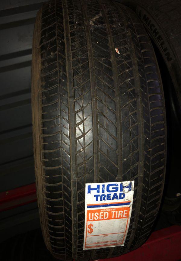 215/55/17 Bridgestone tire