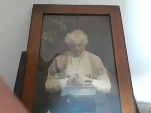 Mrs. Jones picture with frame for Sale in Modesto, CA